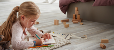 A Good Choice: Laminate Flooring in Children's Bedrooms