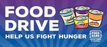 Collecting Food Donations for Foodbank from Nov 22 - Dec 6