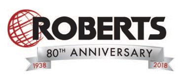 Roberts 80th anniversary